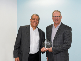 JJ Singh, Founder, Investor & CEO of EKA Solutions and Mark Walker, investor, President and CIO...