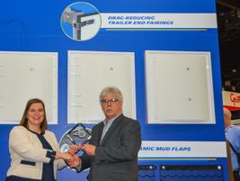 Karen Schwartz, Marketing Director, B2B Long Distance & Urban Transportation, Michelin received...