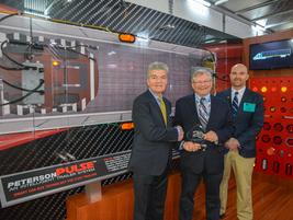 Al Anderson, Director of HD Sales; and Cory Adams, VP Engineering, Peterson Manufacturing...