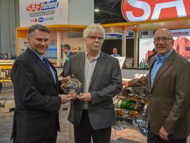 Carl Mesker, VP Sales Americas and Bill Hicks, Product Planning Manager, SAF Hollandreceived...
