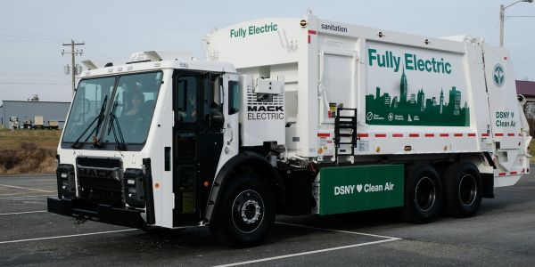 The latest version of the Mack LR (introduced in 2015) is all electric, from the vehicle drive...