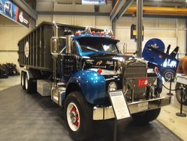 1965 Mack B57SEngine: 237-hp Mack Maxidyne ENDT675Axles: 18K front, 40K rear, axle ratio...