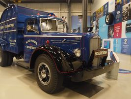 1951 Mack LFEngine: 158-hp Mack Thermodyne EN510A gasolineTrans: Mack TR671 6-speed directAxles:...