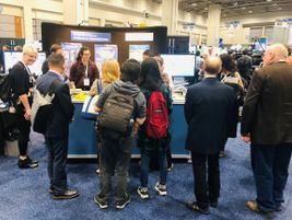 "The FHWA's ""Streamtable"" drew in a crowd of students and engineers to hear about environmentally..."