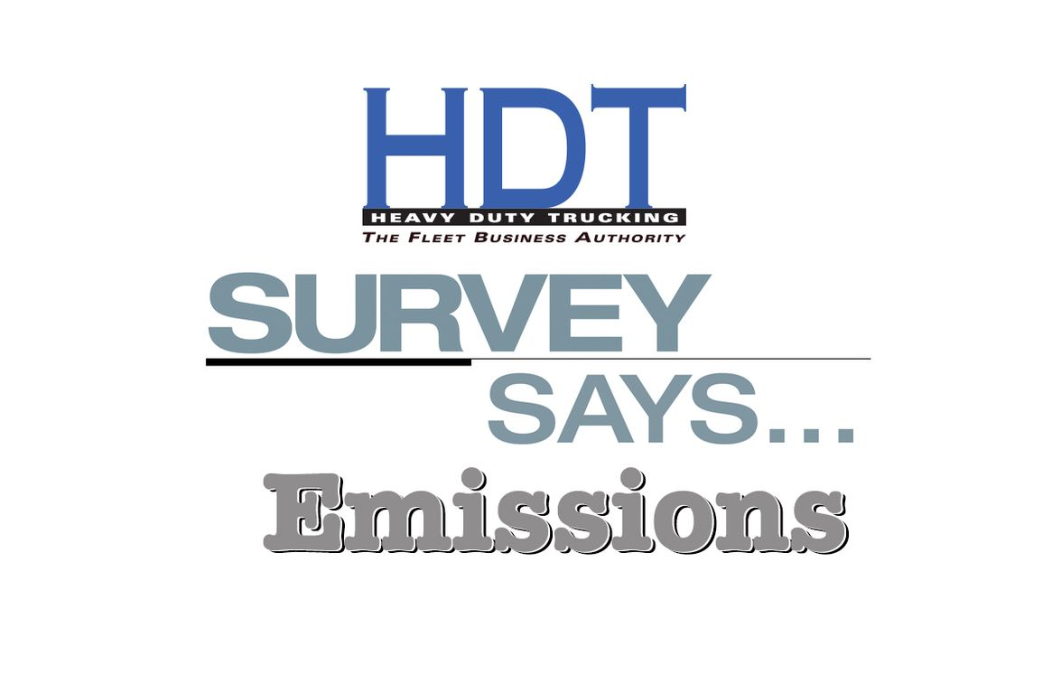 Survey Says: Emissions
