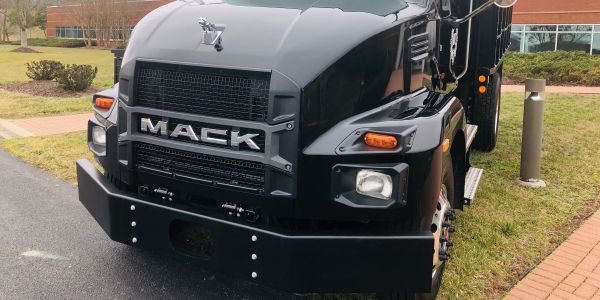 Unmistakably a⁦ Mack Truck, new Class 6 and 7 MD Series models share exterior design cues with...