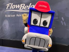 ATA's Safety Sammy made the rounds at this year's TMC show.