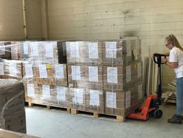 Werner assisted in its home state of Nebraska in its efforts to source and deliver critical...