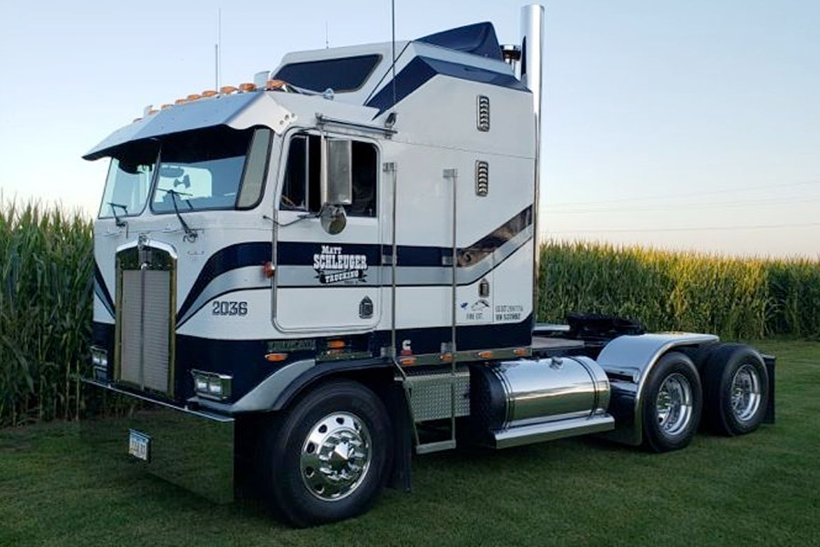 Cabover Winner Matt Schleuger's 1993 Kenworth K100E, Not Daddy's Money