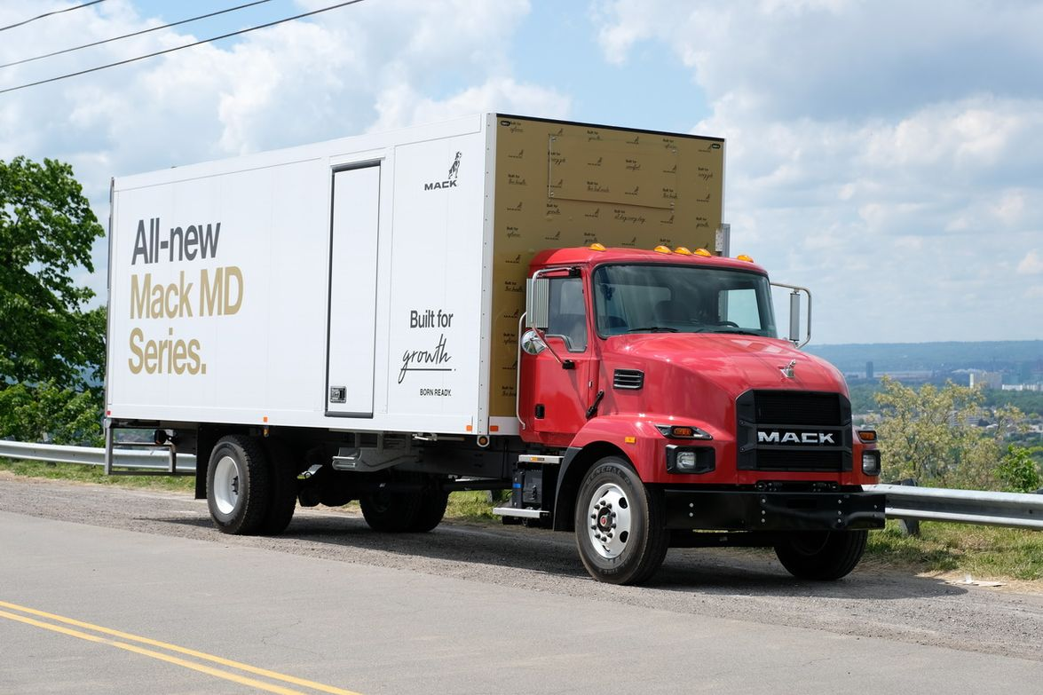 Test Drive: Mack's MD Series [Photos]
