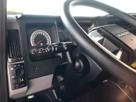 Over on the left side you find the turn signals, wiper & washer controls as well as the...
