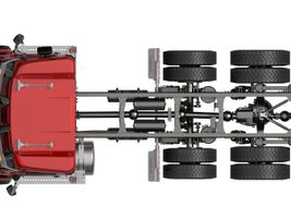 A brand-new vocational frame features what Daimler says is best-in-class single channel rail...