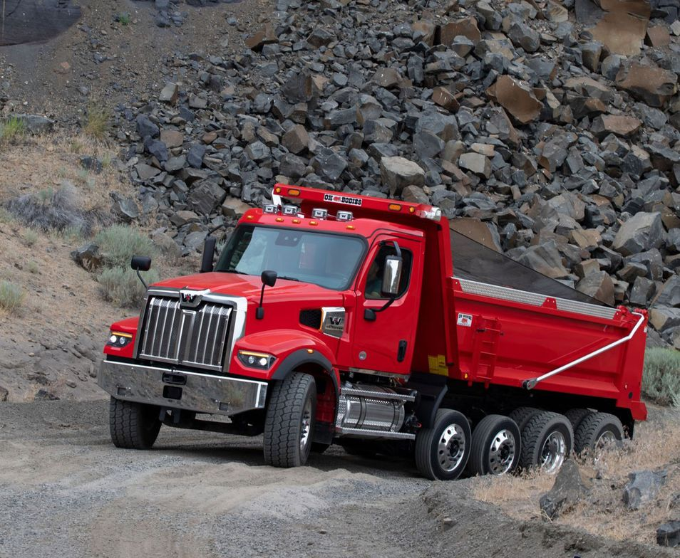 A new DT12 Vocational automated transmission offers unique work application modes designed for...