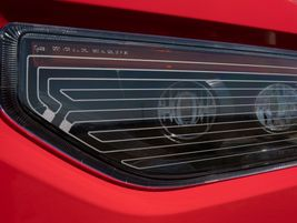 The headlights on the Western Star 49X use patented technology, with the heaing elements printed...
