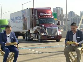 The Toyota-Kenworth fuel-cell electric project was represented.