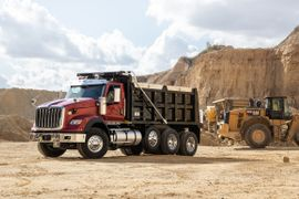 Navistar's New International HX Severe-Service Truck in Photos
