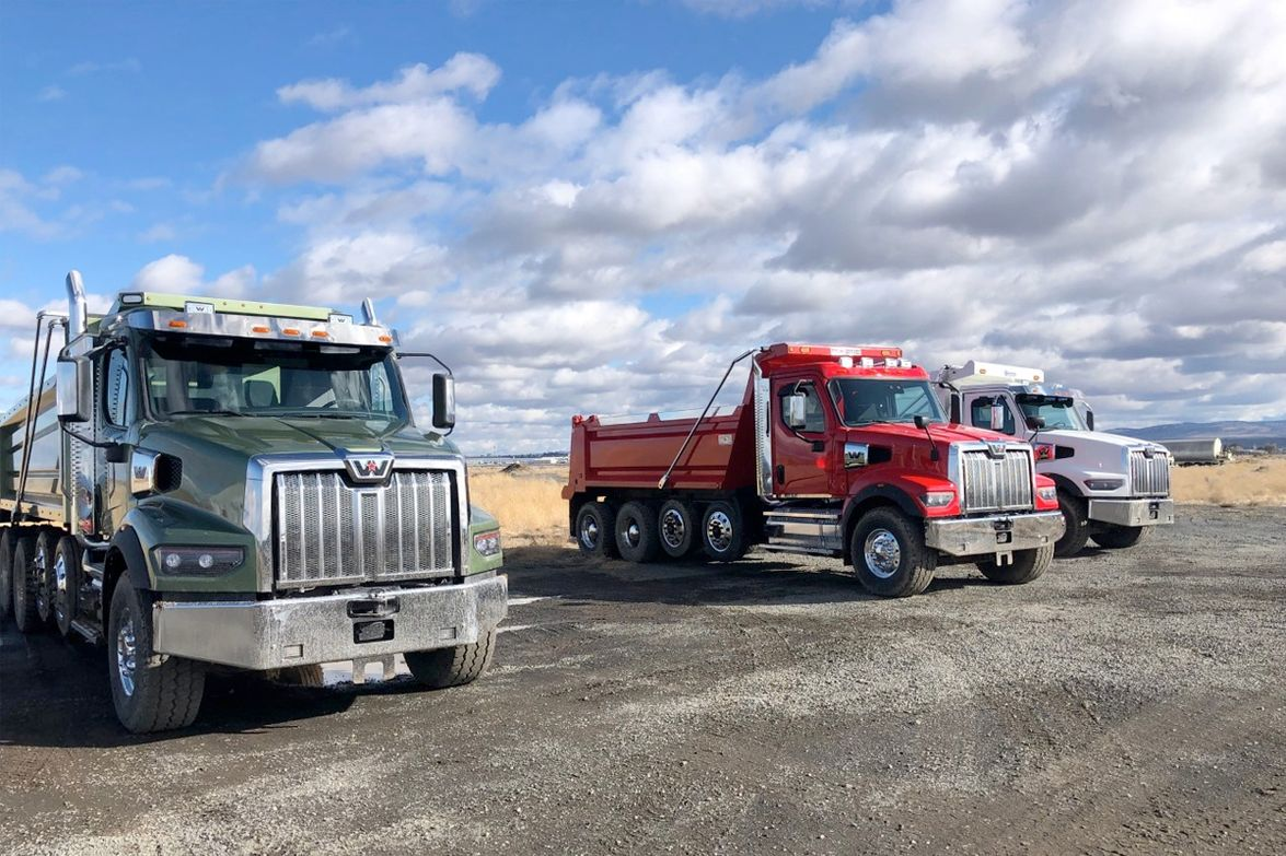 A day of driving at the DTNA Truck Proving Grounds outside Madras, Oregon, provided both...