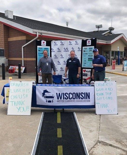 TheWisconsin Motor Carriers Associationhosted a ThankATrucker fundraiser to thank truck...