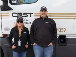 CRST International, Cedar Rapids, Iowa, partnered with Central Furniture Rescue to help deliver...