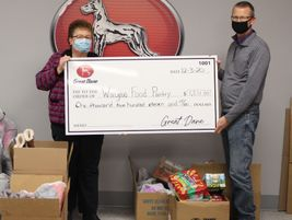 Employees of Great Dane, based in Savannah, Georgia, gave back to the communities they serve in...