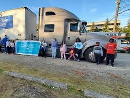 Tulsa, Oklahoma-based Melton Truck Lines gave back to its community through donations to local...