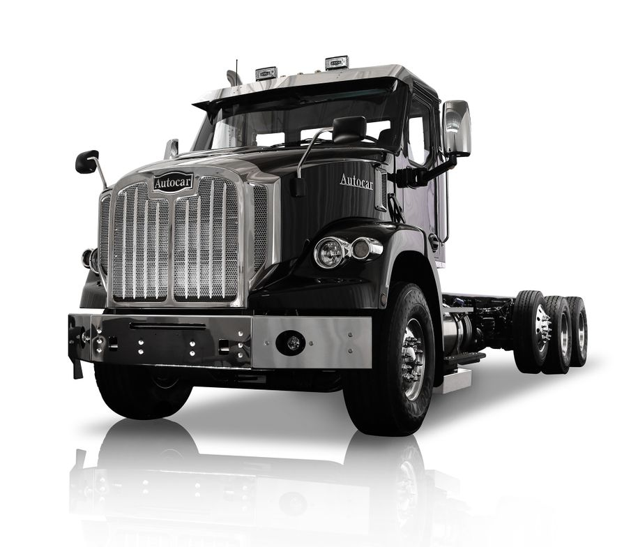 Autocar's new DC Series vocational trucks debuted in 2019.