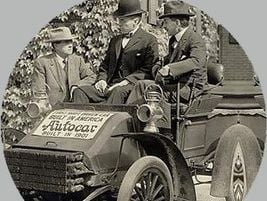 """""""Autocar No. 1"""" was a single-cylinder gasoline-powered tricycle that debuted in 1897. It was..."""