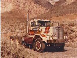 Autocar DC64B, circa 1980. Autocar's production facilities moved to Ogden, Utah, in 1980. In...
