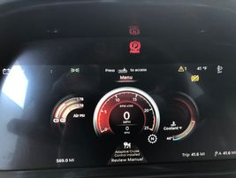 An all-new, 15-inch Digital Display screen is mounted in the center dash cluster behind the...