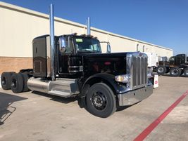 While in Denton, we checked out the trucks on the lot headed to customers. This black beauty is...