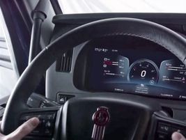 The new 15-inch digital display in the dash replaces the traditional instrument cluster.