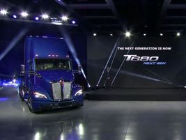 Kenworth unveiled its new T680 Next Generation to reporters during a virtual event Feb. 11.