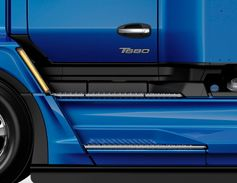 The T680 Next Generation features more stair-like entry steps and an LED turn indicator on the...