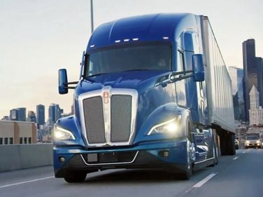 Kenworth said the T680 Next Gen is up to 6% more fuel efficient.