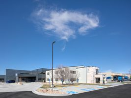The new 61,000-square-feet building is packed with amenities for their truck drivers and other...