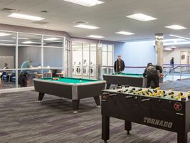 Prime's Salt Lake City facility includes a lounge.