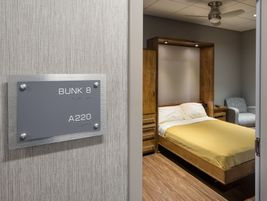 Prime drivers have access to private bunk rooms.