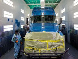 Approximately 750 trucks pass through Prime's Salt Lake City terminal each week.