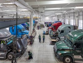The new building is part of a multi-faceted effort to retain and recruit more drivers and...