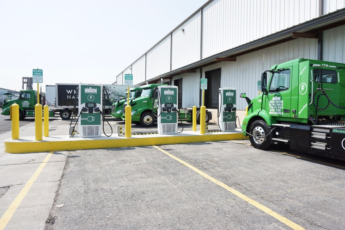 To support the charging of its battery-electric fleet, Manhattan Beer Distributors has installed...