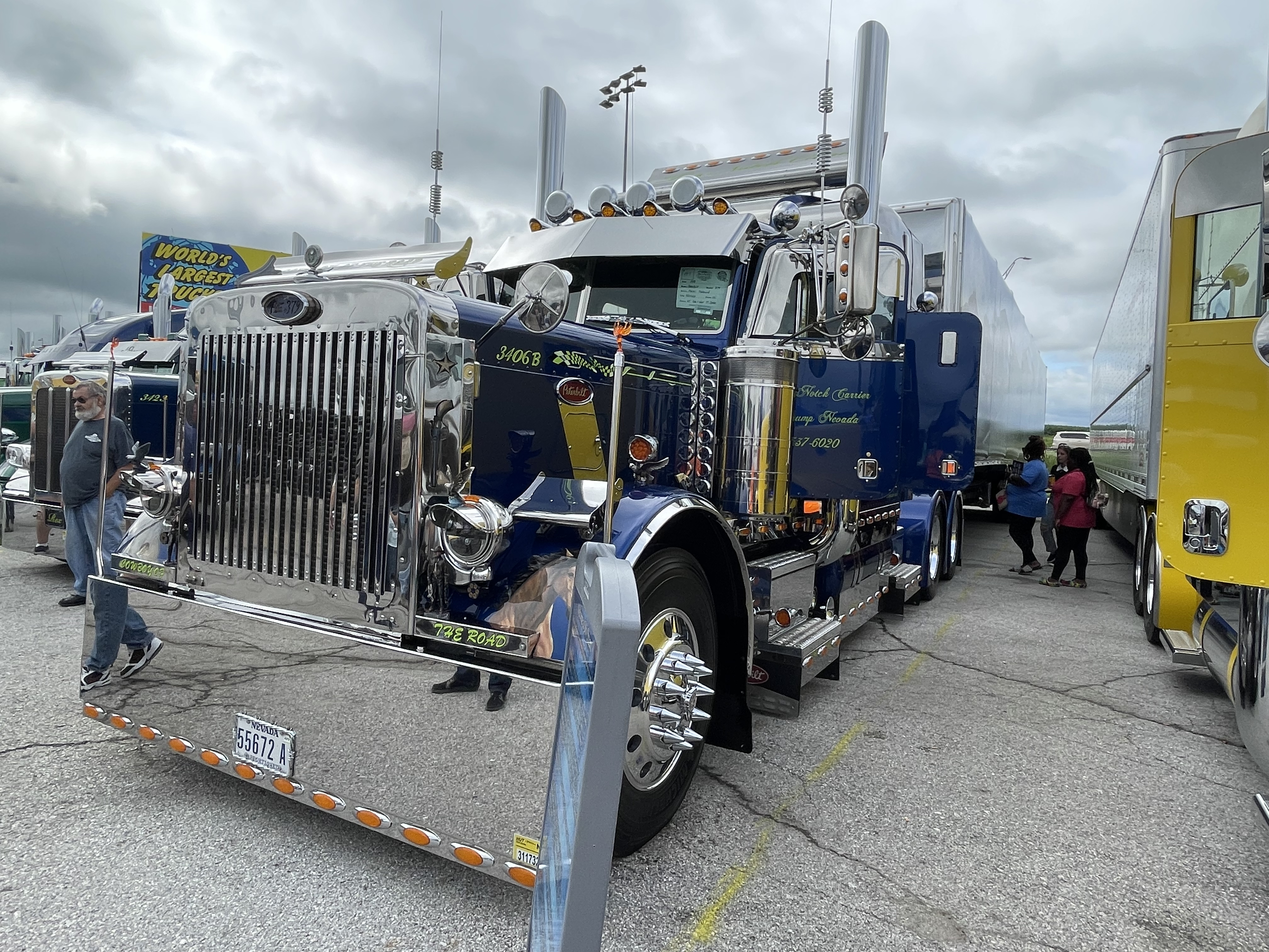 2021 Walcott Truckers Jamboree Super Truck Beauty Contest [Photos]