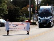 The America Rolls Strong Truck Parade was part of #TruckloadStrong, a new TCA initiative focused...