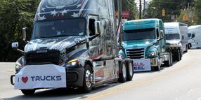 Parade Honors Truck Drivers' Role [Photos]