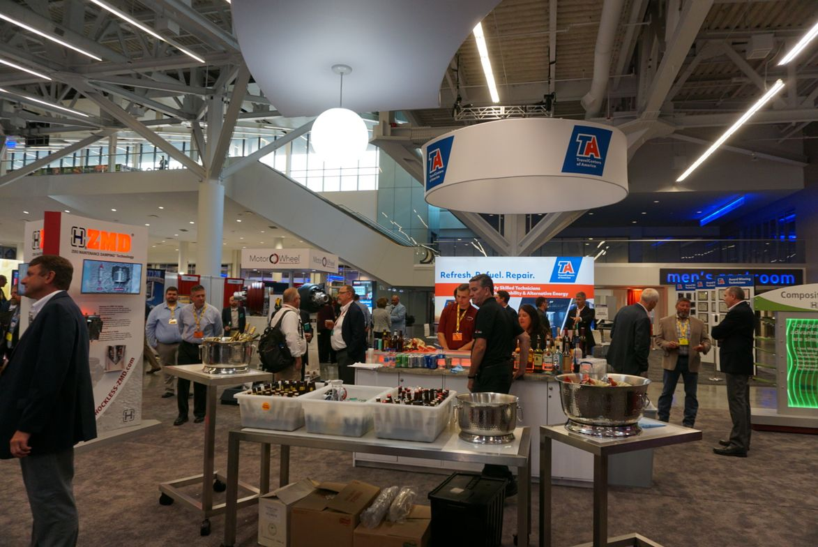 TMC's Fall Meeting exhibition hall opened Sept. 13.