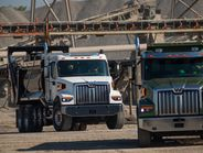 The vocational truck is suited for applications that are impacted by bridge laws, but still...