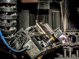 Detroit Reman has heavily invested in additive manufacturing.
