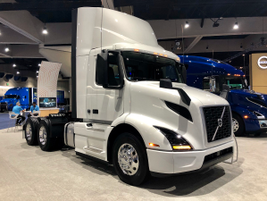 Volvo Trucks North America announced at show that it will start selling a battery-electric...