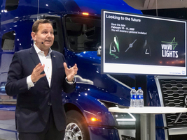 Volvo Trucks North America announced that it would begin selling an electric Class 8 truck in...