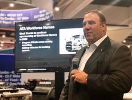 Mack Trucks sales & marketing chief Jonathan Randall reporting that the battery-electric version...