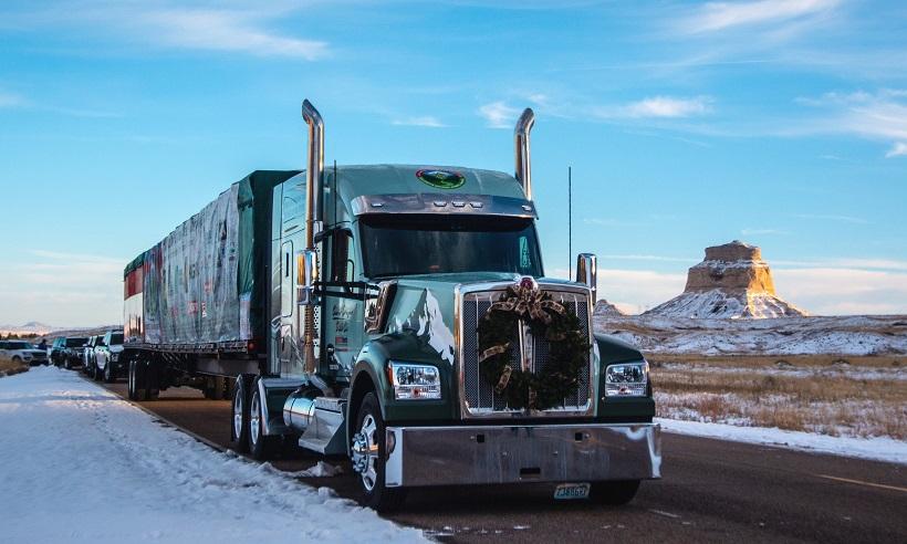 On the road near Scotts Bluff, Nebraska.
